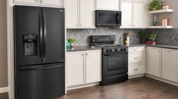 LG Kitchen 2 MatteBlack Range