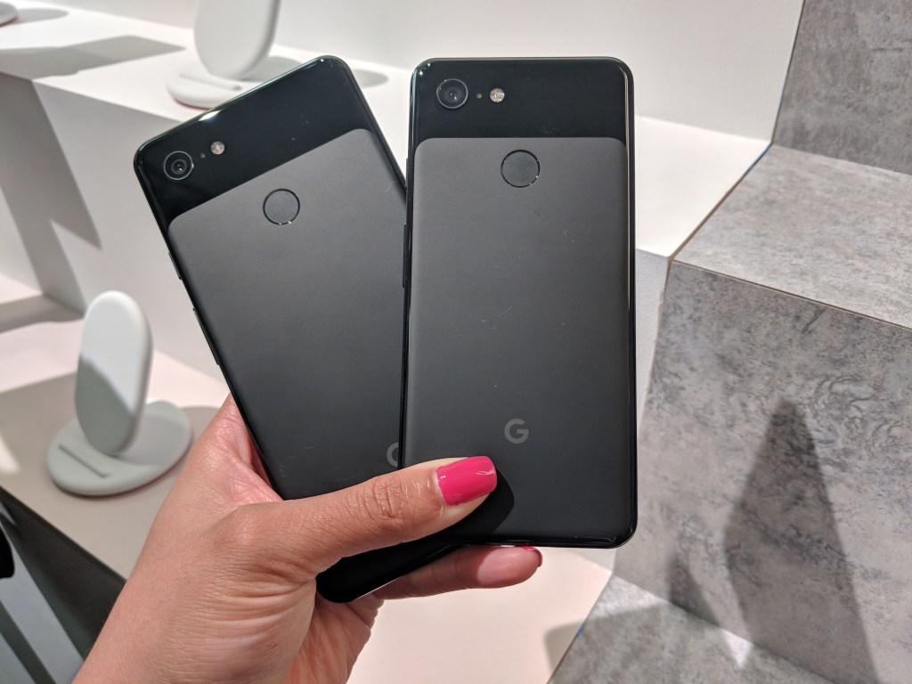 Pixel 3 and Pixel 3 XL - Back