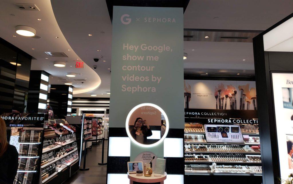 Google x Sephora - Google Home Hub #okgoogle - (1)