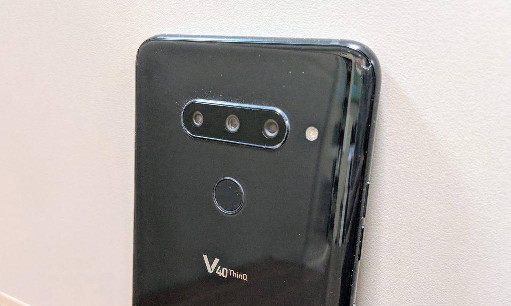 Rear Cameras - LG V40 ThinQ