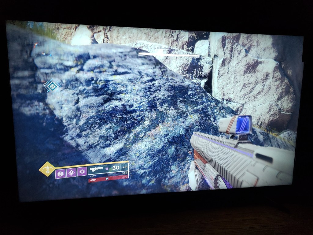 Playing Destiny 2 on Hisense H8E TV