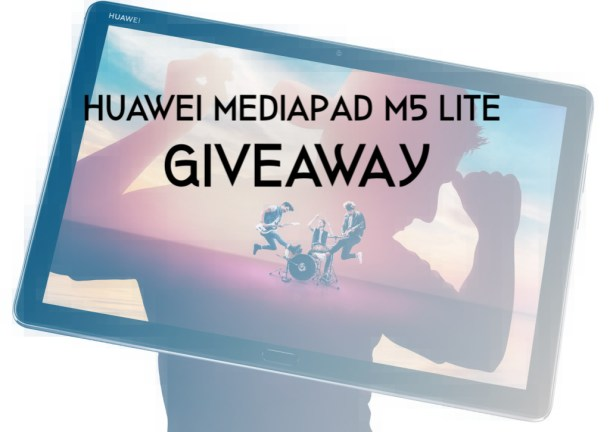 Giveaway: Huawei MediaPad M5 Lite