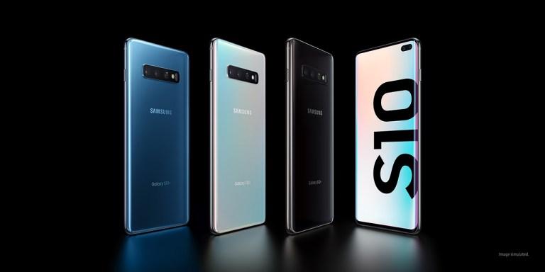 Samsung Galaxy S10 -Standing-Multi