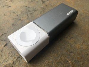 KANEX GoPower Watch Battery -headon shot