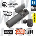 Wicked Audio Arq True Wireless Bluetooth Earbuds