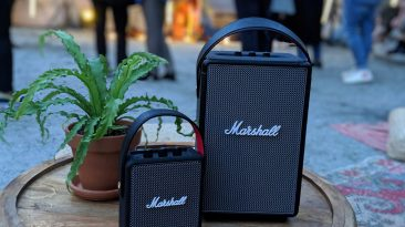 Marshall Stockwell II and Tufton Portable speakers