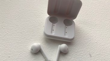 headphones outside of their case