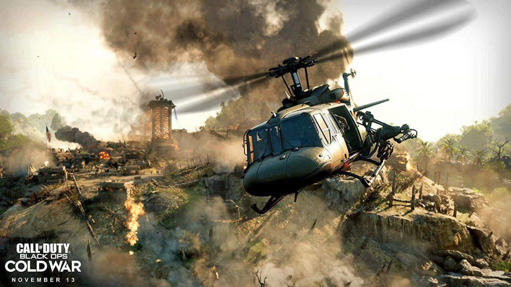 helicopter in desert